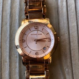 Michael Kors Janey Rose Gold Bracelet Watch!
